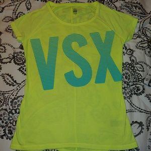 VS sport neon green/yellow shirt